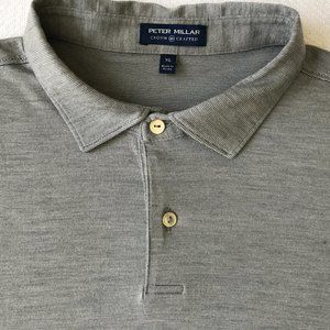 Peter Millar Wool-Blend Polo Shirt